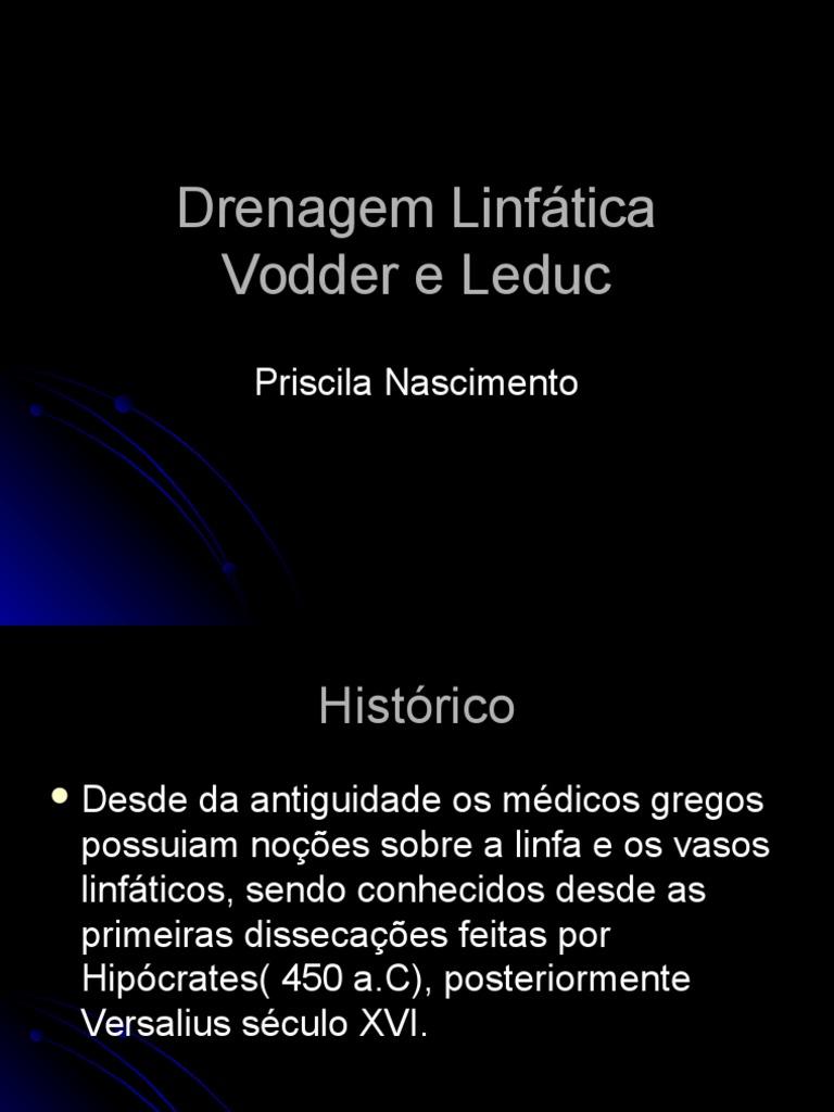 Drenagem linfatica metodo vodder pdf files