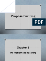 Proposal Writting