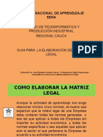 Presentacion Matriz Legal(1)