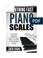 Lightning Fast Piano Scales 2.0 - Zach Evans