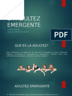 La Adultez Emergente