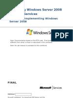 Module 2_Implementing Windows Server 2008