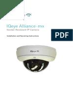Alliance CCTV-mx IQM5x Manual