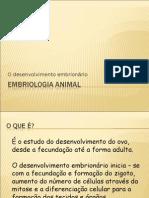Biologia PPT - Embriologia