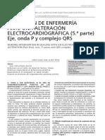 Interpretacion electrocardiografica - 5 Eje, Onda P y Complejo QRS