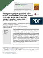 4Distinguishing Tropical Sprue From Celiac