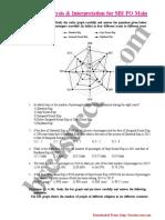 Data Analysis Interpretation for SBI PO Main 1