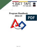 2014 15 TDT Handbook