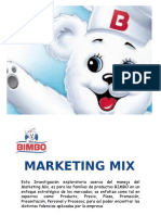 Marketing Mix BIMBO