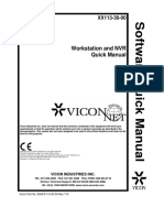 ViconNet8 NVR WS QuickManual