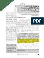 CoConsumo de drogras en La Universidad de Guanajuatonsumo de Drogras en La Universidad de Guanajuato