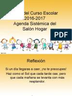Presentación Agenda Sistemática SH 3 1 2016 17