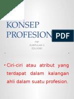 Konsep Profesional