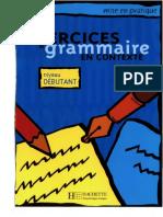 Exercices de Grammaire Niveau Debutant Anne Akyuz 2000 Ocr
