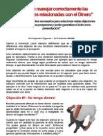 """Como Manejar con Exito las Objeciones Del Dinero en Negocios Multinivel"""""""