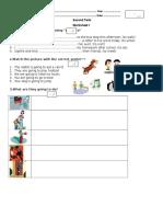 2nd Year Jp Worksheet 1 Going to Tema 1