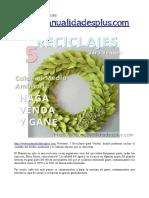5 Manualidades Recicladas Para Vender Http Www Manualidadesplus Com