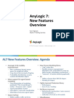 AnyLogic 7 New Features