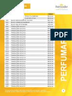 Catálogo Hinode - Listagem de Produtos e Preços revendedor