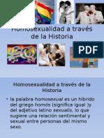 Homosexualidad a Través de La Historia