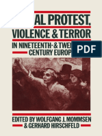 Social Protest, Violence and Terror in Nineteenth- And Twentieth-century Europe