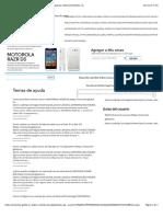 1MOTOROLA RAZR D3 - Motorola Support - Buscar Respuestas - Motorola Mobility, Inc.