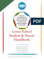 qiss lower school student   parent handbook 2015-2016 - copy copy