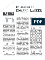 Un análisis de Edward Lasker