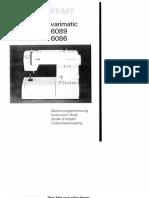 Pfaff 6086 Varimatic