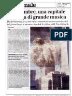 Giancarlo Rossi - (salv)agente di cambio - PDF Rassegna Stampa Compagnia per la Musica di Roma IlGiornale8-9-09