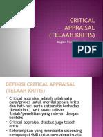 Critical Appraisal Unila