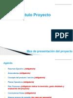 Modelo Plan de Proyecto