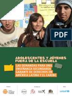 Clade Adolescentes y Jovenes Fuera de La Escuela