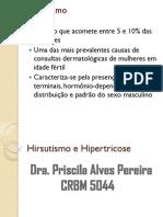 Hirsutismo e Hipertricose