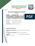 Universidad Nanjklglfkcional de Ucayali Revisado Trabajo de Mecanica