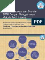 Evaluasi Pelaksanaan Standar-Audit