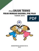 Buku Juknis Pin Polio