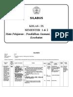 SILABUS IX - 1 & 2