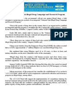 aug08.2016 bCreate a National Anti-Illegal Drug Campaign and Research Program
