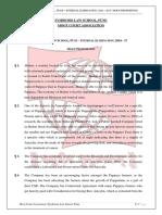 Symbiosis Law School, Pune - Internal Elimination 2016 - 2017 - Moot Proposition (1)