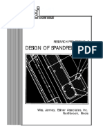 Reference #15 - R&D 5-86 Design of Spandrel Beams