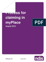 Process for Claiming in Myplace