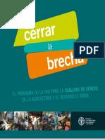 Equidad de Genero y Desarrollo Rural_FAO