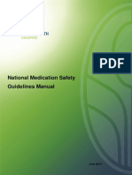 National Medication Safety Guidelines Manual Final