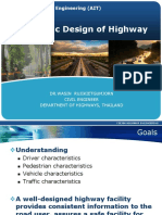 Geometric Design of Highways Lecture