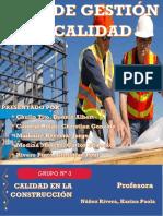 Plan de Gestión de Calidad - Construcción