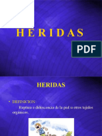 HERIDAS.