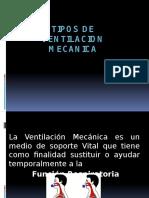 Tipos de Ventilacion Mecanica