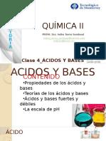 Clase 4_ACIDOS Y BASES_curso Quimica II
