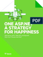 One Aspnet Strategy for Happiness Telerik